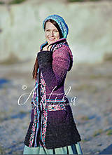 Kabáty - kabátik Violet spirit - 12686861_