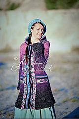 Kabáty - kabátik Violet spirit - 12686863_