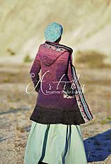 Kabáty - kabátik Violet spirit - 12686868_