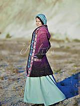 Kabáty - kabátik Violet spirit - 12686873_