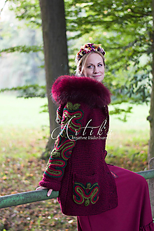 Kabáty - Ruby Red - 12686661_