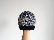 Detské čiapky - Detská pletená čiapka - 12686485_