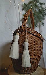 Dekorácie - Makramé dekoračné strapce (VEĽKÉ) - 12686707_