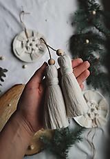 Dekorácie - Makramé dekoračné strapce (VEĽKÉ) - 12686710_