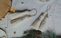 Dekorácie - Makramé dekoračné strapce (VEĽKÉ) - 12686712_