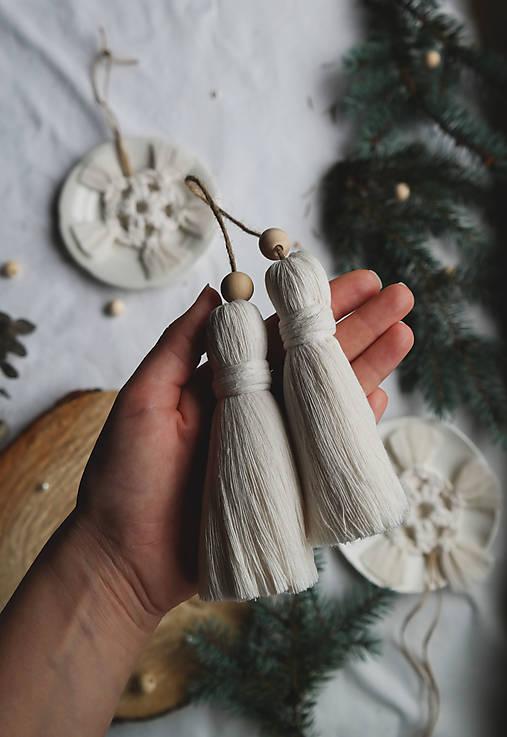 Makramé dekoračné strapce (VEĽKÉ)