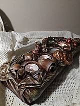 Dekorácie - Adventný svietnik - 12685214_