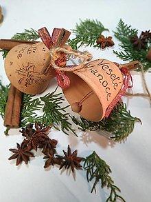 Dekorácie - Zvonček - vianoce - 12682662_