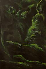 Obrazy - V hĺbke zamatového lesa - Originál Maľba - 12684903_