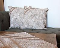 Úžitkový textil - Zimná sada - veľký obrus + 2 vankúše - 12691858_