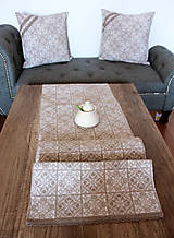 Úžitkový textil - Zimná sada - veľký obrus + 2 vankúše - 12691866_