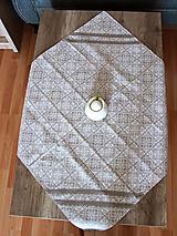 Úžitkový textil - Zimný obrus - štvorcový - 12691888_