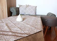Úžitkový textil - Zimný obrus - štvorcový - 12691891_