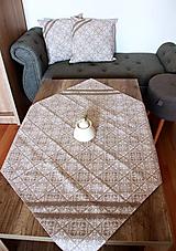 Úžitkový textil - Zimný obrus - štvorcový - 12691892_