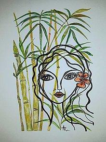 Obrazy - Bambus šťastia - 12689305_