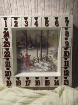 Krabičky - Adventný kalendár - 12692666_