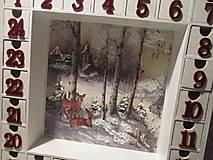 Krabičky - Adventný kalendár - 12692667_