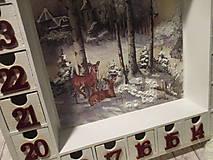 Krabičky - Adventný kalendár - 12692668_