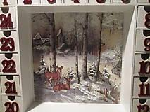 Krabičky - Adventný kalendár - 12692673_