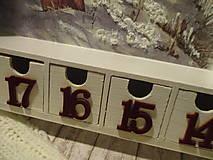 Krabičky - Adventný kalendár - 12692674_