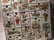 Krabičky - Adventný kalendár - 12692708_