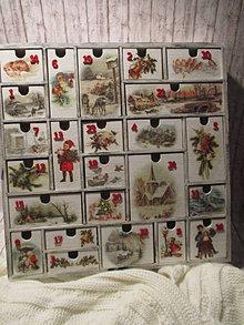 Krabičky - Adventný kalendár - 12692707_