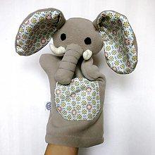 Hračky - Maňuška slon - Sloník od Malej zátoky - 12691878_