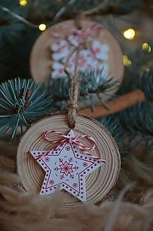 Dekorácie - Vianočné ozdoby  (Hviezda) - 12692965_