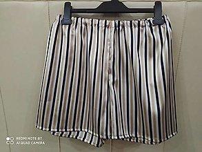 Oblečenie - Hodvábne trenírky (kraťasy alebo šortky) - 12689433_