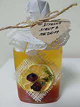 Potraviny - AKCIA - Šípkový sirup s medom - 12692577_