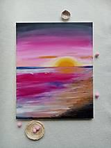 Obrazy - Ružový západ slnka - 12688992_