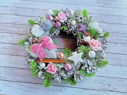 Zimný - Vianočný veniec