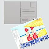 Papiernictvo - Umelecké pohľadnice - sada - 12689273_