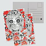 Papiernictvo - Umelecké pohľadnice - sada - 12689278_