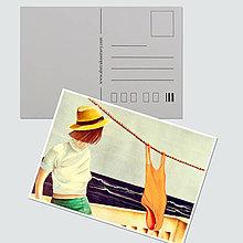"""Papiernictvo - Umelecká pohľadnica """"Summer in Fuerte"""" - 12689389_"""