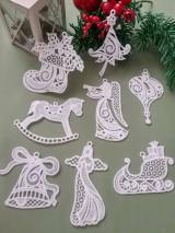 Dekorácie - Súprava vianočných ozdôb 1 - 12693279_