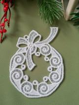 Dekorácie - Vianočné ozdoby 2 (venček) - 12693499_