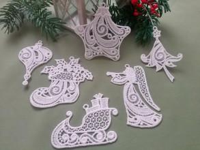 Dekorácie - Súprava vianočných ozdôb 2 - 12693372_