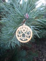 Dekorácie - Vianočné ozdoby 2 (Zlatá - zvonček) - 12689930_