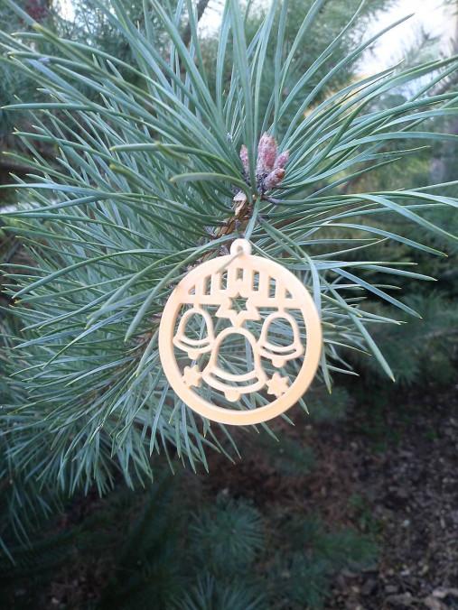 Vianočné ozdoby 2 (Zlatá - zvonček)