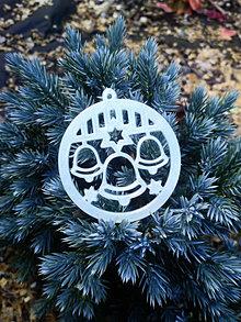 Dekorácie - Vianočné ozdoby 2 (Svietiace - zvonček) - 12689985_
