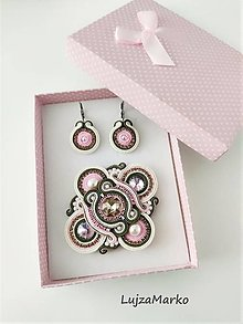 Sady šperkov - Davina sada v darčekovom balení - 12691303_