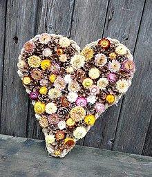 Dekorácie - Srdce Len tak - 12695294_