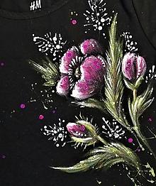 Detské oblečenie - Ružové maky - detské tričko - 12696578_