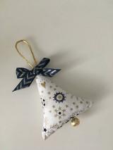 Dekorácie - Site Vianocne ozdoby-zlato modre - 12695739_