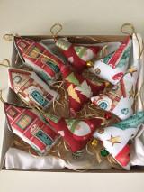 Dekorácie - Site Vianocne ozdoby - 12695793_