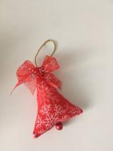 Dekorácie - Site Vianocne ozdoby-cervene - 12695869_