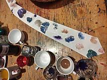 Doplnky - Hodvábna kravata Ginko - 12698238_