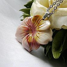 Náhrdelníky - Kvet z jaspisu - 12698762_