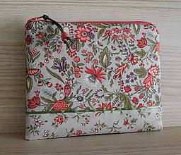 Taštičky - SAShEnka no. 257 - Lososové květy - 12698123_